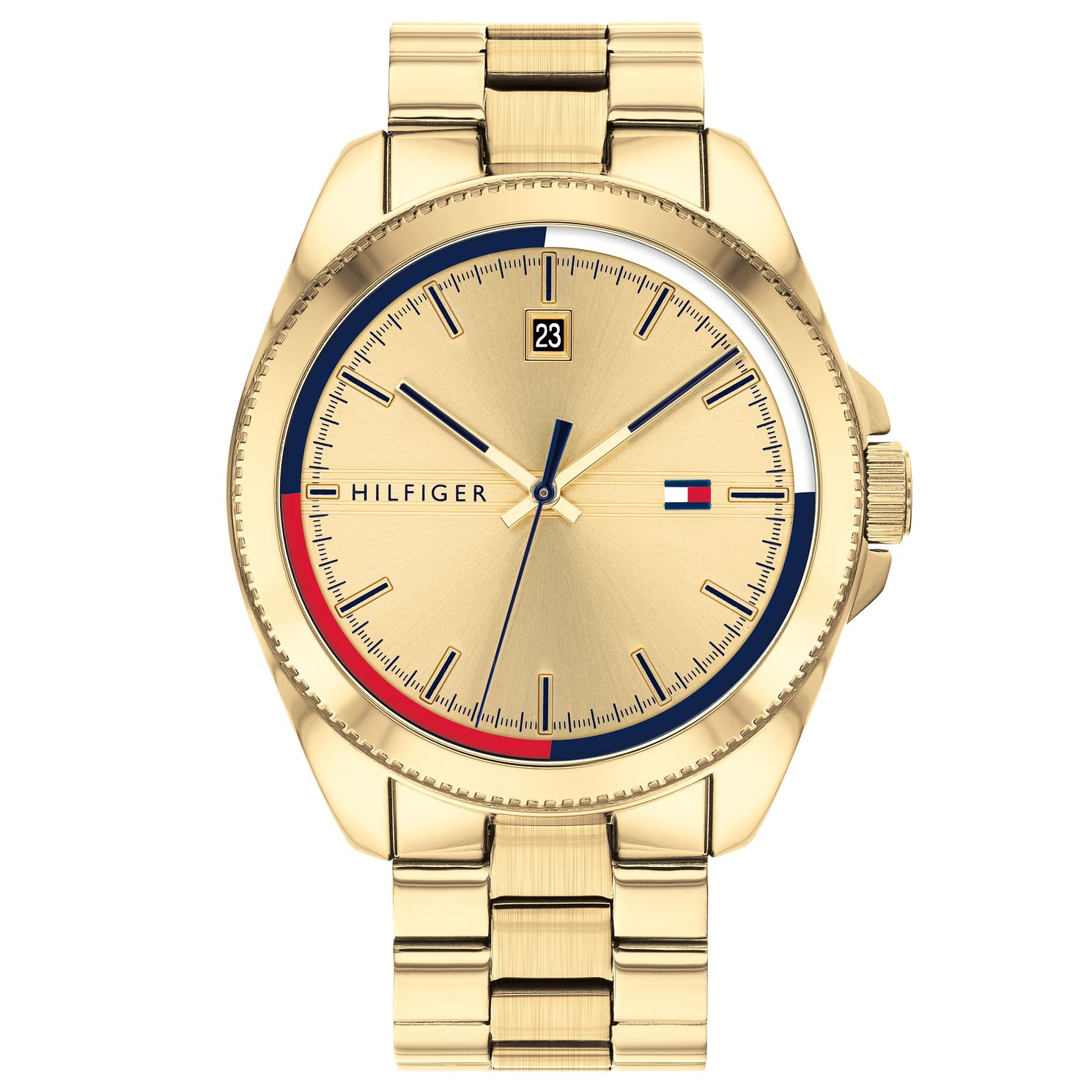 Tommy Hilfiger Riley Men's Yellow Gold Tone Bracelet Watch - Product number 4877799