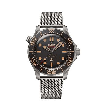 Omega Seamaster 007 Edition Titanium Mesh Bracelet Watch - Product number 4885023