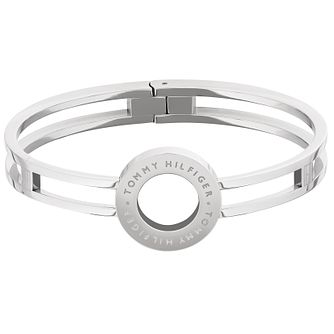 Tommy Hilfiger Ladies' Stainless Steel Circle Bangle - Product number 4885805