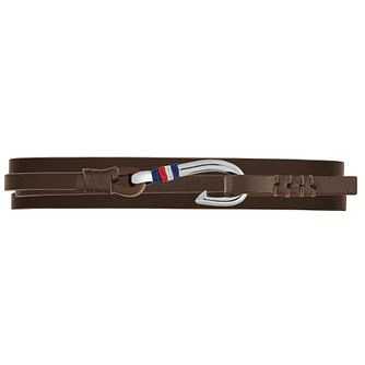 Tommy Hilfiger Men's Brown Leather Nautical Bracelet - Product number 4885880