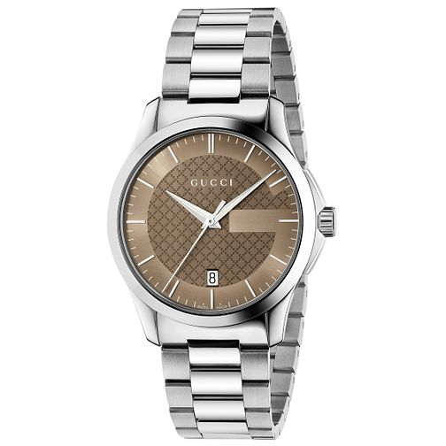 e120ca6d2d18 Gucci G-Timeless Stainless Steel Bracelet Watch - Product number 4891945