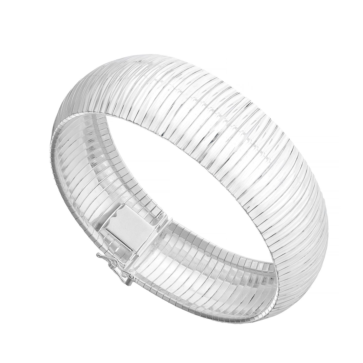Sterling Silver Structured Cuff Bracelet - Product number 4892747