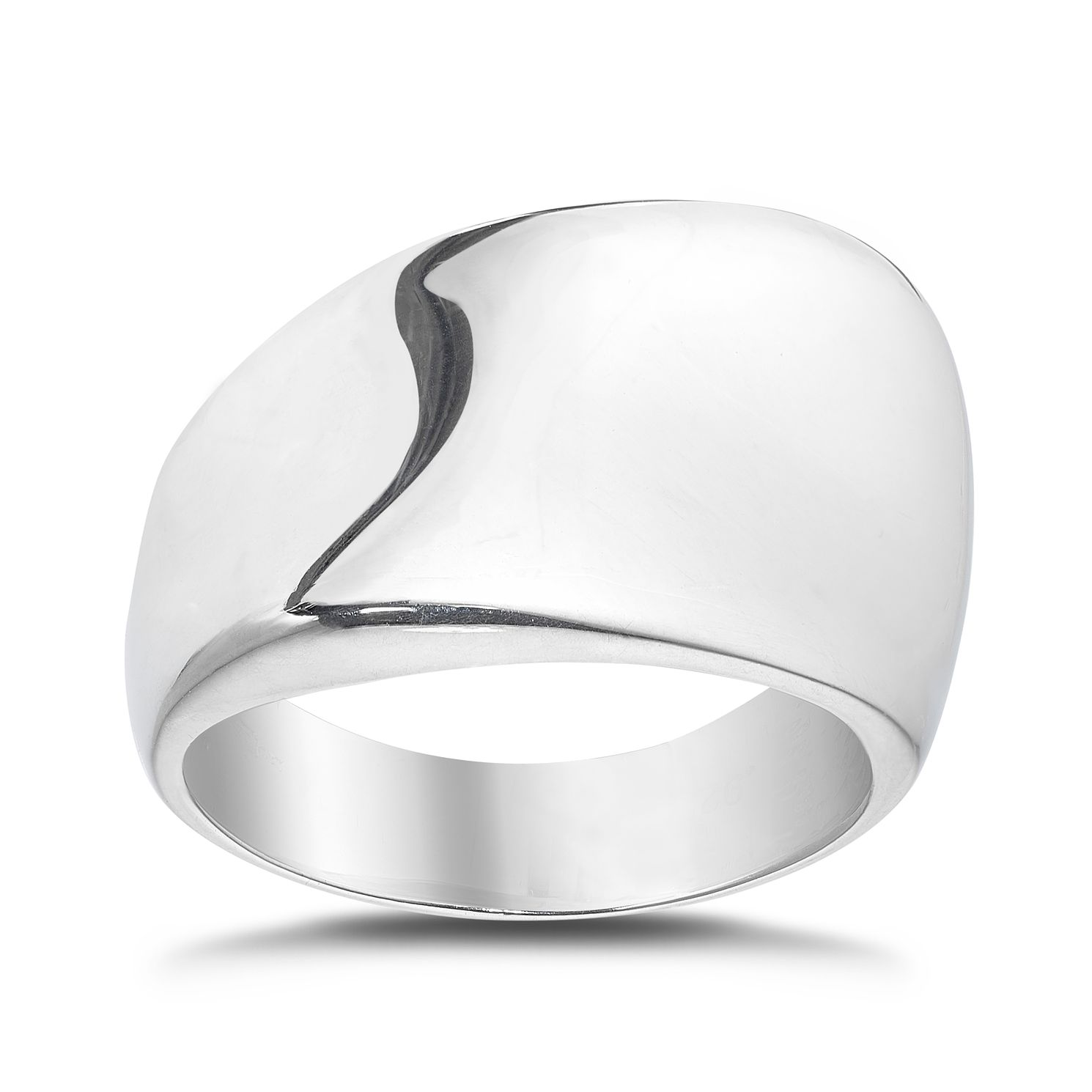 Sterling Silver Polished Ring - Product number 4893336