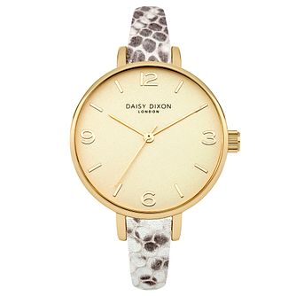 Daisy Dixon Sophia Grey Metallic Strap Watch - Product number 4896785