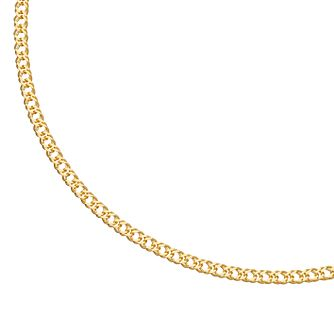9ct Yellow Gold Curb Chain Anklet - Product number 4898265