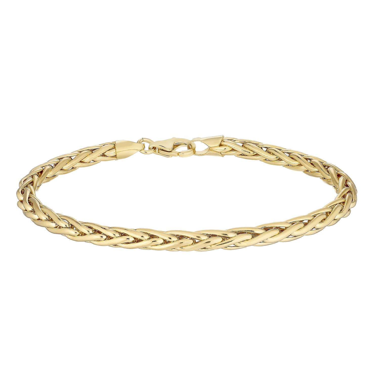 9ct Yellow Gold Spiga Chain Bracelet - Product number 4898389