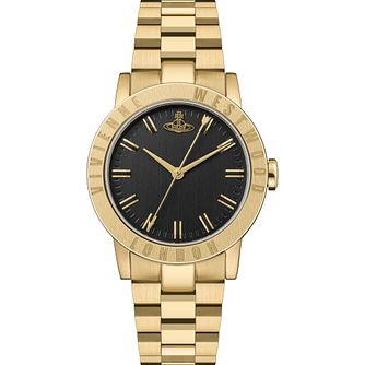 Vivienne Westwood Warwick Ladies' Gold Tone Bracelet Watch - Product number 4898486