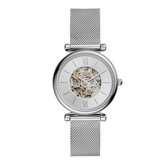 Fossil Ladies' Stainless Steel Skeleton Bracelet Watch - Product number 4899105