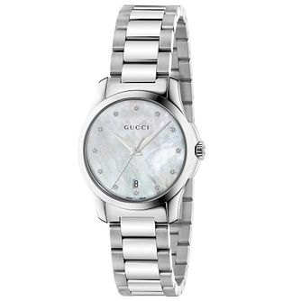 Gucci G-Timeless Stainless Steel Bracelet Watch - Product number 4899113