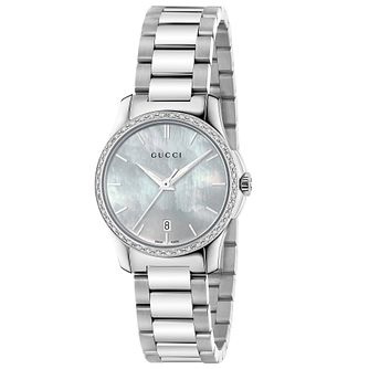 Gucci G-Timeless Stainless Steel Bracelet Watch - Product number 4899156