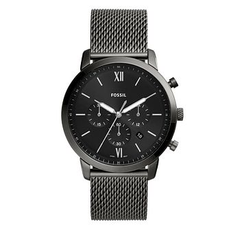 Fossil Stainless Steel Black Chronograph Blacelet Watch - Product number 4899202