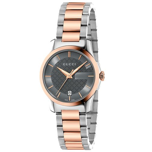 Gucci G-Timeless Ladies' Two-Tone Bracelet Watch - Product number 4899210