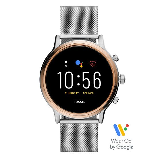 Fossil Smartwatches Julianna HR Stainless Steel Watch - Product number 4899334
