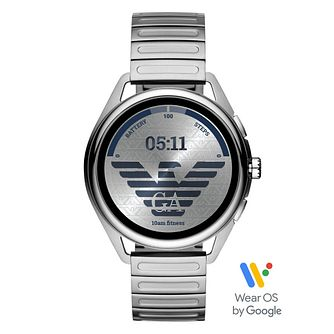 Emporio Armani Connected Gen 5 Stainless Steel Smartwatch - Product number 4899415