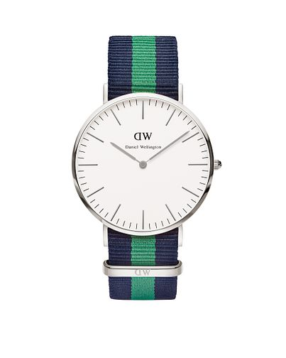 Daniel Wellington Warwick Navy & Green NATO Strap Watch - Product number 4899474