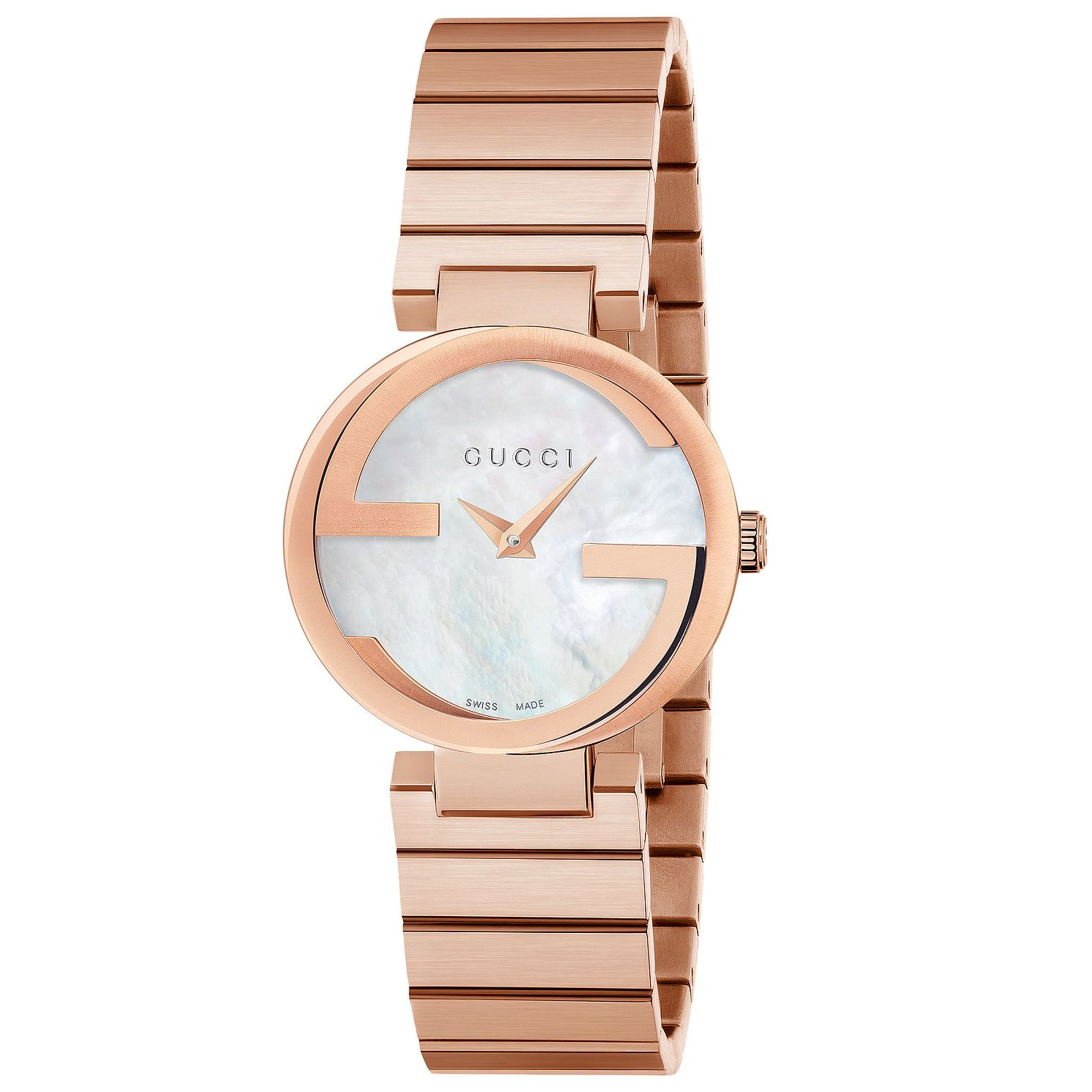 Gucci Interlocking Qxg' Rose Gold Tone Bracelet Watch - Product number 4899512