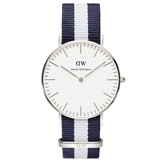Daniel Wellington Glasgow Ladies' NATO Strap Watch - Product number 4899911