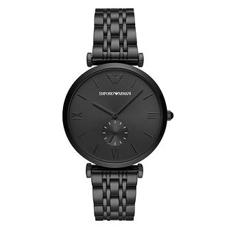 Emporio Armani Men's Black IP Bracelet Watch - Product number 4900510