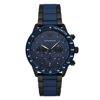 Emporio Armani Men's Two Tone Bracelet Watch - Product number 4901185