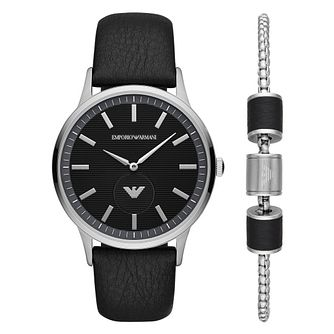 Emporio Armani Men's Watch & Bracelet Gift Set - Product number 4901258