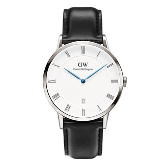 Daniel Wellington Dapper Sheffield Men's Leather Strap Watch - Product number 4901797