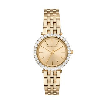 Michael Kors Darci Ladies' Yellow Gold Tone Bracelet Watch - Product number 4902122