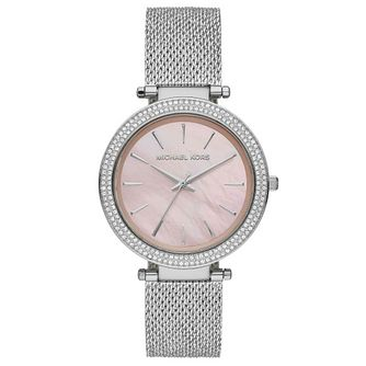 Michael Kors Darci Ladies' Stainless Steel Bracelet Watch - Product number 4902823
