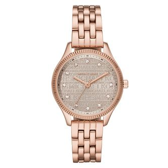 Michael Kors Lexington Rose Gold Tone Bracelet Watch - Product number 4903072