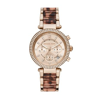 Michael Kors Parker Ladies' Rose Gold Tone Bracelet Watch - Product number 4903080