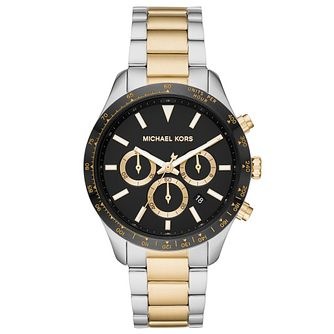 Michael Kors Layton Ladies' Two Tone Bracelet Watch - Product number 4903099