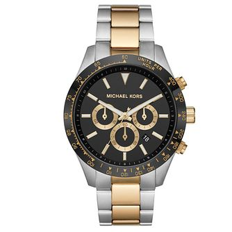 Michael Kors Layton Men's Two Tone Bracelet Watch - Product number 4903188