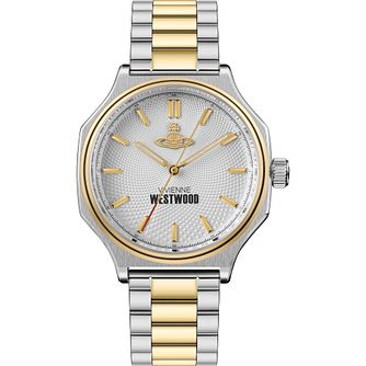 Vivienne Westwood Mile End Men's Two Tone Bracelet Watch - Product number 4903455