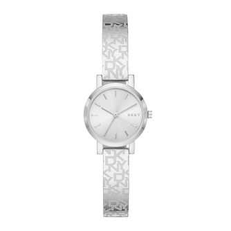 DKNY Soho Ladies' Logo Stainless Steel Bangle Bracelet Watch - Product number 4903463