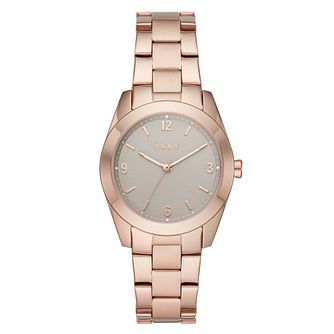 DKNY Nolita Ladies' Rose Gold Tone Bracelet Watch - Product number 4903528