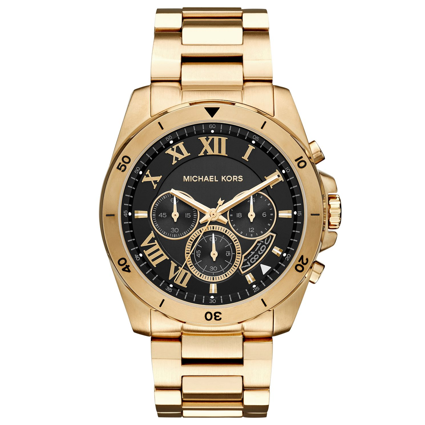 Michael Kors Men's Gold Plated Bracelet Watch - Product number 4904427