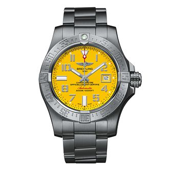 Breitling Avenger II Seawolf Men's Steel Bracelet Watch - Product number 4909585