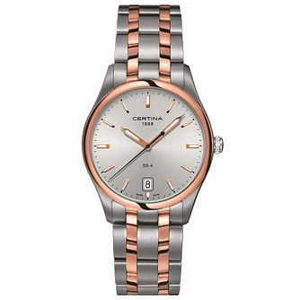 Certina Ds-4 Men's Two Colour Bracelet Watch - Product number 4910796