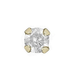 9ct Yellow Gold & Diamond 2mm Nose Stud - Product number 4914031