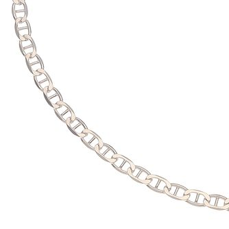 "Silver Flat Rambo 20"" Chain Necklace - Product number 4914392"