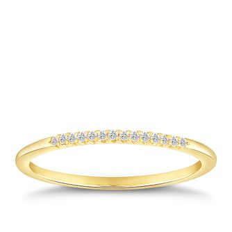 9ct Yellow Gold Diamond Ring - Product number 4915003
