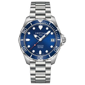 Certina DS Action Men's Stainless Steel Bracelet Watch - Product number 4916484
