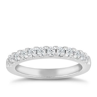 18ct White Gold 1/2ct Diamond Ring - Product number 4920538