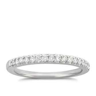 Platinum 1/5ct Diamond Ring - Product number 4926099