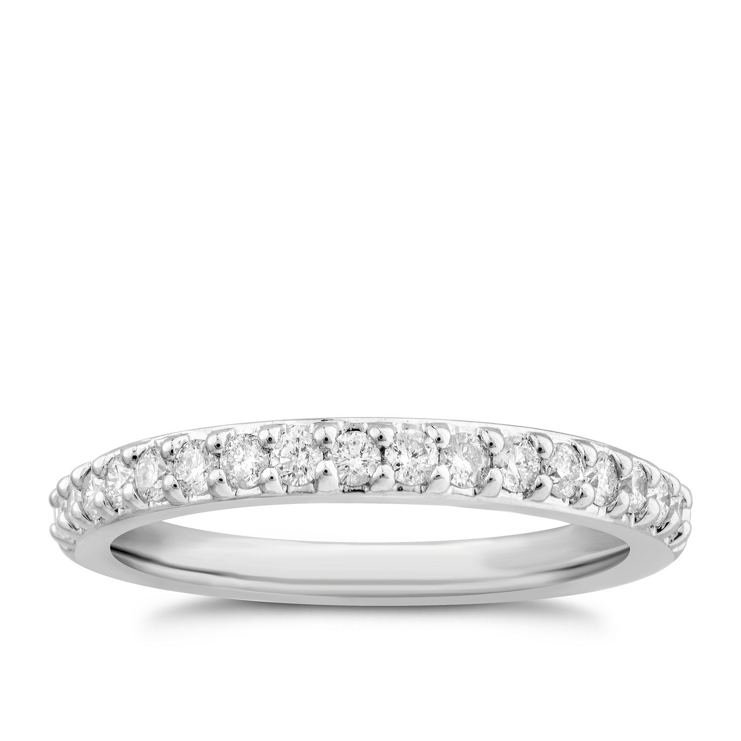 Platinum 0.30ct Diamond Ring - Product number 4926242