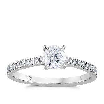 Arctic Light 18ct White Gold 2/3ct Diamond Ring - Product number 4931203