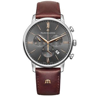 Maurice Lacroix Men's Stainless Steel Strap Watch - Product number 4936337