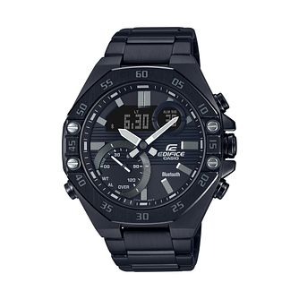 Casio Edifice Men's Black IP Bracelet Watch - Product number 4938194