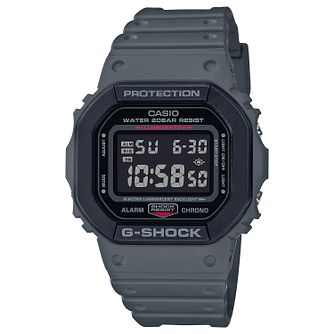 Casio G-Shock Digital Men's Grey Resin Bracelet Watch - Product number 4938275