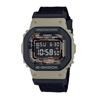 Casio G-Shock Men's Khaki Resin Strap Watch - Product number 4938283