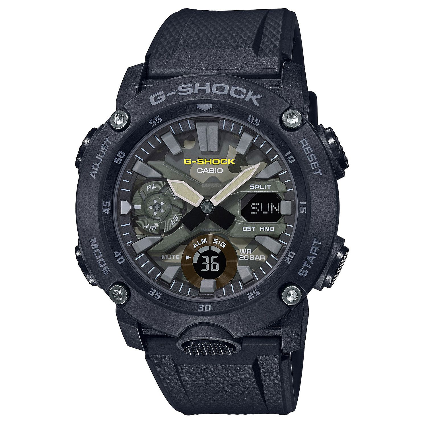 Casio G-Shock Men's Black Resin Strap Watch - Product number 4938305